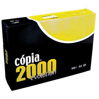 COPIA 2000 Evolution Papel Multiusos para Laser, Jacto de Tinta, Fotocopiadoras e Fax A4  80 g/m² Branco