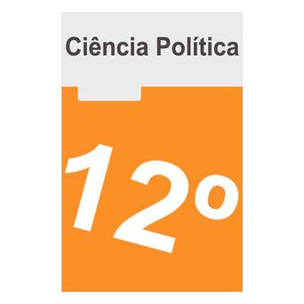 PORTO EDITORA Caderno Ciência Política 12 (Ciência Política; 12º Ano)