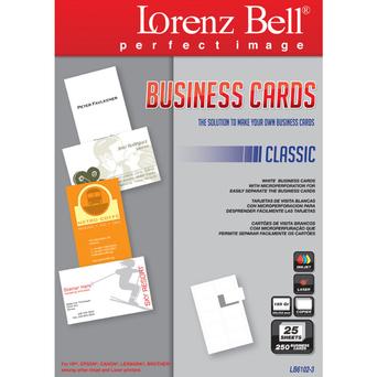 LORENZ BELL Cartão Visita Classic