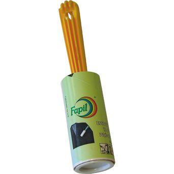 FAPIL Rolo Adesivo para Remover Pelos, 12 Folhas, 1,60 m