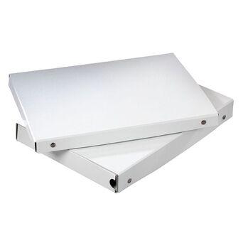 ANCOR Caixa Cromolux 2000, A3, Lombada de 5 cm, Cartão, Branco