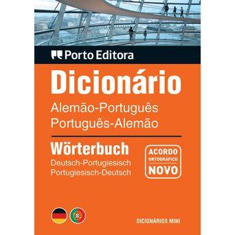 PORTO EDITORA Dicionário Mini de Alemão-Português e Português-Alemão