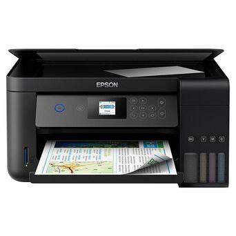 Epson Impressora Multifunções EcoTank ET-2750 3em1 a Cores, A4, Sem Fios