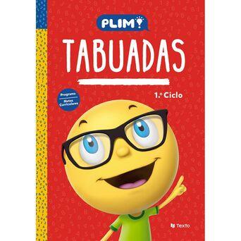 TEXTO EDITORES Livro Tabuadas Plim, 1º Ciclo