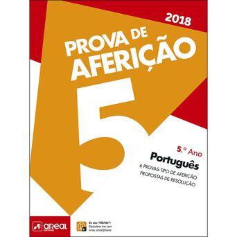 AREAL EDITORES Livro Prova de Aferição 2018 Português, 5º Ano
