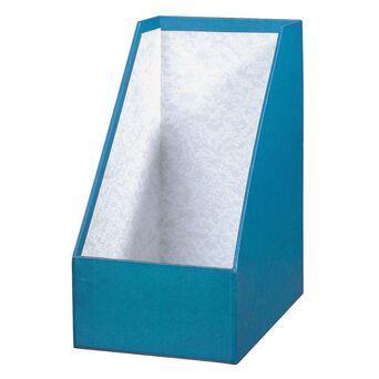 ANCOR Porta-Revistas, Cartão, 16 cm, Azul