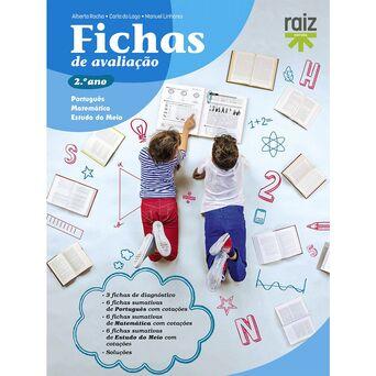 PORTO EDITORA Livro 'Fichas de Avaliação' – 2º Ano
