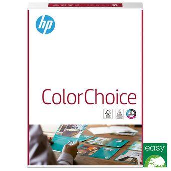 HP Papel ColorChoice, Impressão a Laser, A4, 120g/m², Branco