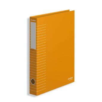 AMBAR Pasta de Arquivo Lombada Estreita Ideas, A4, Largura da Lombada 45 mm, Cartão, Cor de laranja