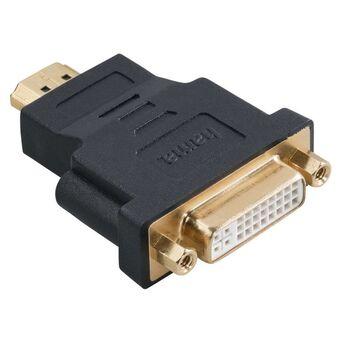 hama Adaptador HDMI™ (M) – DVI-D (F), Preto