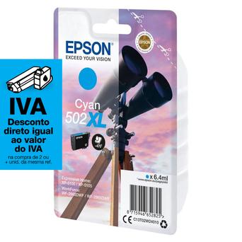 Epson Tinteiro de Alta Capacidade 502XL, Ciano