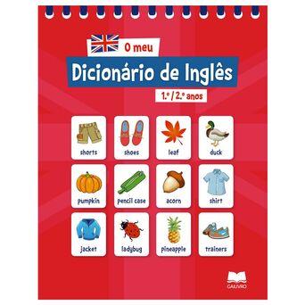 LEYA Livro 'O Meu Dicionário de Inglês' – 1º. e 2º. Anos