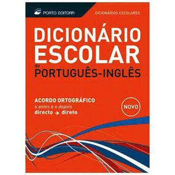 PORTO EDITORA Dicionário Escolar Português/Inglês