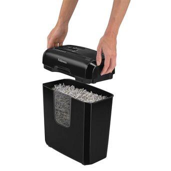 FELLOWES Destruidora de Corte Cruzado Powershred® 6C, 6 Folhas, Cesto de 11 L, Destrói Papel, Agrafos, Cartões de Crédito