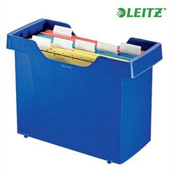 LEITZ Caixa Arquivo Suspensão Plus Azul