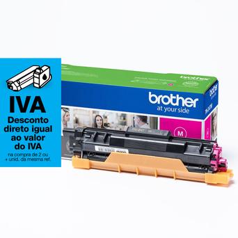 brother Toner Original TN-247, Alta Capacidade, Magenta, Embalagem Individual, TN247M