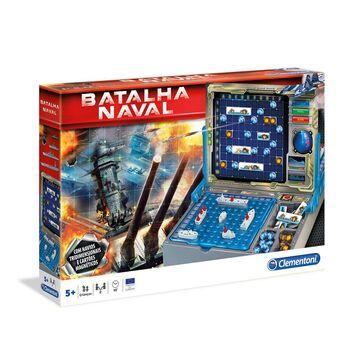CLEMENTONI Jogo Tabuleiro 'Batalha Naval Eletrónica', +5 Anos