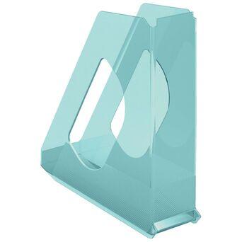 ESSELTE Porta-Revistas, Colour'Ice, Poliestireno, A4, Azul