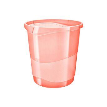 ESSELTE Cesto Papéis Colour'Ice, 14 L, Plástico, Laranja