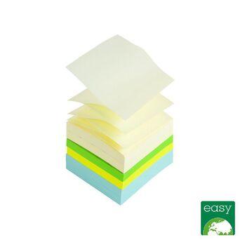 Staples Blocos de Notas Autocolantes Z-Notes , 76 x 76mm, 70g/m², Várias Cores em Pastel e Néon