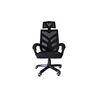 Cadeira de Executivo Racing, Rede Mesh, Preto