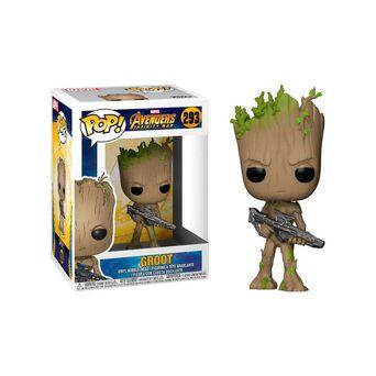 FUNKO Figura Pop!® Marvel® Avengers Infinity War - Groot com Arma