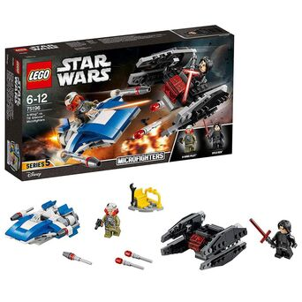 Lego Jogo 'A-Wing™ vs. TIE Silencer™ Microfighters' – Star Wars™, 6 a 12 Anos