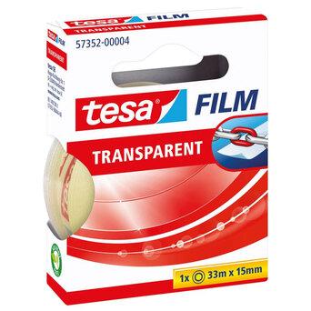 tesa Fita Adesiva tesafilm®, Transparente, 33 m x 15 mm