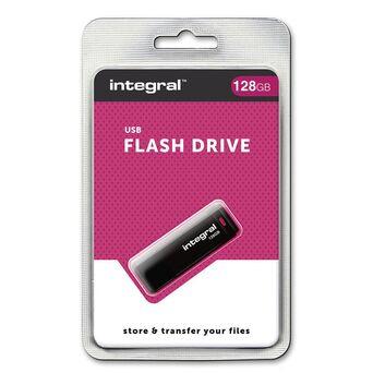 INTEGRAL MEMORY Disco Flash USB, USB 2.0, 128 GB, Preto