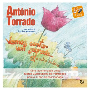 LEYA Livro 'Vamos Contar um Segredo e… Outra História', António Torrado