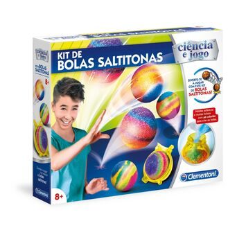CLEMENTONI Brinquedo 'Kit de Bolas Saltitonas', 8+ Anos