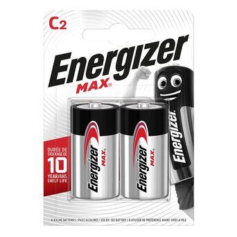 Energizer Pilhas Alcalinas MAX® C LR14, Embalagem 2 Unidades