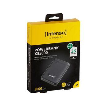 (Intenso) Powerbank XS5000, 5.000 mAh, Preto