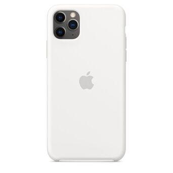 APPLE Capa para iPhone 11 Pro Max, Silicone, Branco
