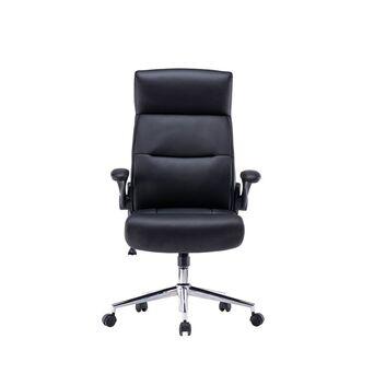 Staples Cadeira de Executivo Duke, Pele Sintética, Preto