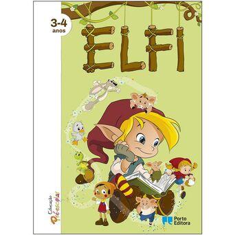 PORTO EDITORA Livro 'ELFI – Educação Pré-Escolar', 3-4 Anos