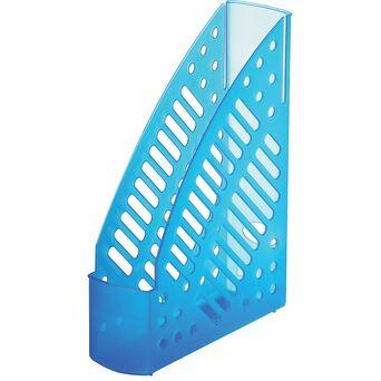 FAIBO Porta-Revistas, Poliestireno, 7,5 cm, Azul Claro