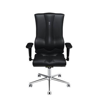 KULIK SYSTEM Cadeira Operativa Ergonómica Top Elegance, Pele Ecológica, Preto