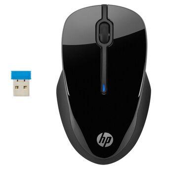 HP Rato Ótico Ambidestro 250, sem Fios, 1600 DPI, Preto