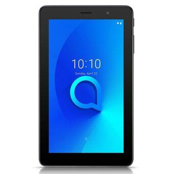 """Alcatel Tablet 1T 7, 7"""", 16 GB, Chipset MT8321A/D, Quad-Core, Preto"""