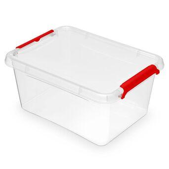 Caixa de Arrumação Multiusos, 1,6 L, Transparente