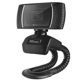 Trust Webcam Trino, 720p HD, Preto