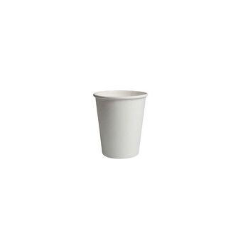 PAPSTAR Copos de Papel Descartáveis para Bebidas, 6 cm, Branco