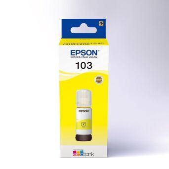 Epson Garrafa de Tinta EcoTank 103, Amarelo, Embalagem Individual, C13T00S44A