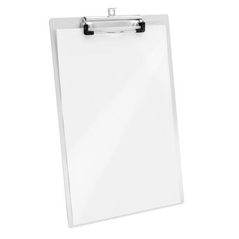 WESTCOTT Prancheta E-17101, A4, Alumínio, Branco