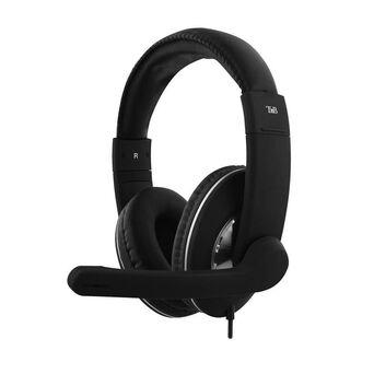 TNB Auscultadores Over-Ear HS-500, com Microfone, Preto