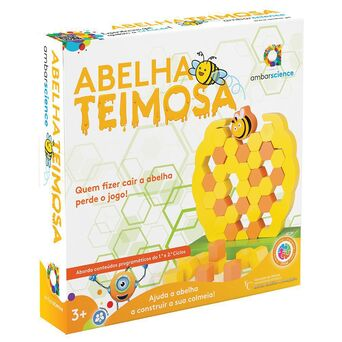 AMBAR Jogo 'Abelha Teimosa', 3+ Anos