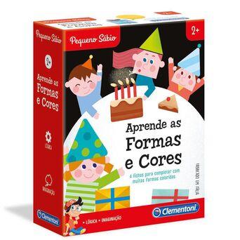 CLEMENTONI Jogo 'Aprende as Formas e Cores', 2+ Anos