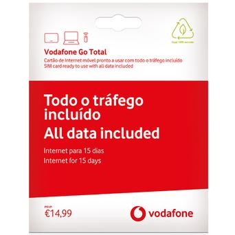 VODAFONE Cartão Vodafone Go Total 15 dias
