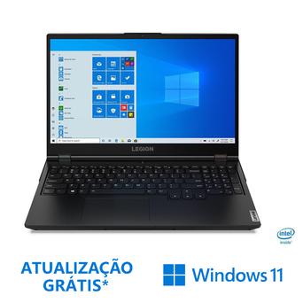"""Lenovo Portátil Gaming Legion 5 15IMH-244, 15,6"""", Intel® Core™ i5-10300H, 8 GB RAM, 512 GB SSD, Preto"""